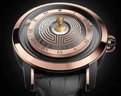 Christophe Claret Aventicum watch features hologram of roman emperor amongst exquisite craftsmanship