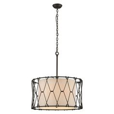 Buxton Drum Pendant | Troy Lighting at Lightology