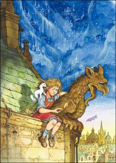 the amber spyglass will and lyra - Google Search