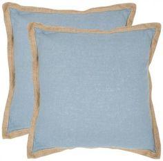 "Madelayne 18"" Pillows - Set of 2 - Sofa Pillow - Couch Pillow - Throw Pillow - Toss Pillows   HomeDecorators.com"
