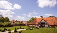Ufton Court is a charming, historic, grade I listed Manor House, set within 16 acres of beautiful grounds and woodland in Berkshire. The stunning . Acre, Woodland, Wedding Venues, Cabin, House Styles, Beautiful, Wedding Reception Venues, Wedding Places, Mornings