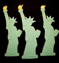 Statue of Liberty Cookies