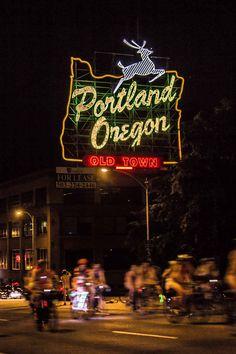 """Naked Neon"" (Portland, Oregon) - photo by Andy Lindblom"