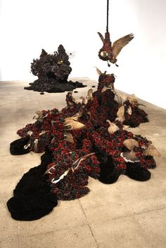 Petah Coyne Untitled#1240 (Black Cloud)