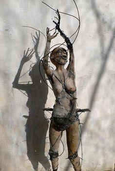 El Arte Macabro de Olivier de Sagazan | FuriaMag | Arts Magazine