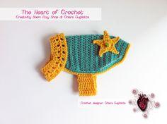 The Heart of Crochet - Cappottino per cane - Coat for dog   designer Chiara Gugliotta