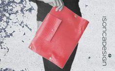 Clutches - Clutch XXL - ein Designerstück von Ingrid-Hapunkt bei DaWanda