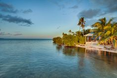 Belize Cabanas | Ocean front accommodations | Belize Private Island | Placencia - Hatchet Caye Resort