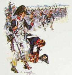 Fucilieri della fanteria di linea francese