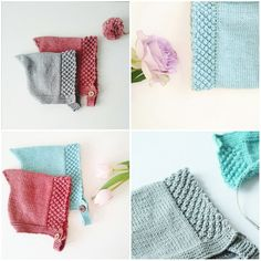 """Knitting pattern baby pixie hat -baby -toddler- pixie bonnet """"ALVA"""" - 0-3 years-baby knitting pattern download pdf"""