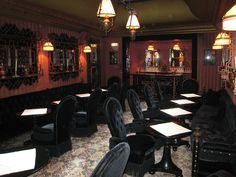 Hotel Costes in Paris where we go to see and to be seen...