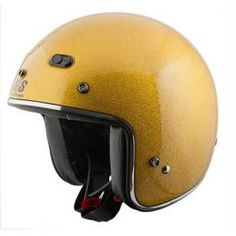 SS600 SPEED METAL™ GLOSS GOLD HELMET - LCS Trading, LLC