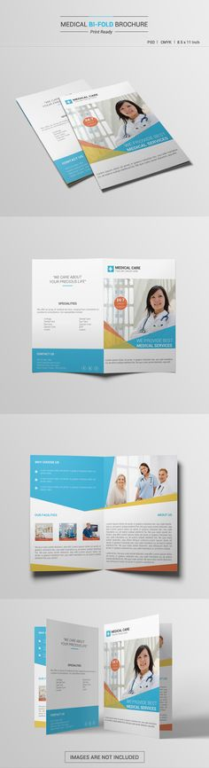 Medical Bifold Brochure Brochures, Medical and Brochure template - medical brochure template
