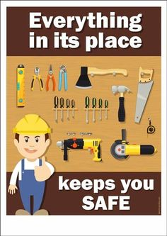 Construction Safety Posters – Safety Poster Shop – Page 2 Fire Safety Poster, Health And Safety Poster, Safety Posters, Safety Quotes, Safety Slogans, Safety Talk, Safety Pictures, Workplace Safety Tips, Safety Management System