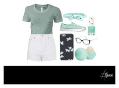 """""""Sunny Day"""" by bgmmstore ❤ liked on Polyvore featuring Vans, Topshop, Marc by Marc Jacobs, Eos, Tiffany & Co. and Aéropostale"""