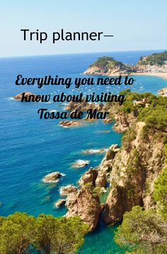 Tossa de Mar is a tourist village that is still able to keep its charm. Find out everything you need to know to visit Tossa.