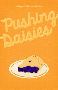 Pushing Daisies (2007–2009) ~ Minimal TV Series Poster by Ellery L #amusementphile