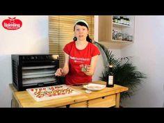 Rezept Marinierte Gemüsespieße im Sedona Dörrgerät (Rohkost) - YouTube
