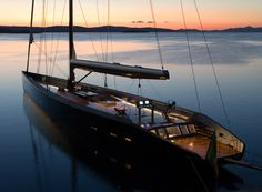 The majestic Wally 143' Sail Yacht