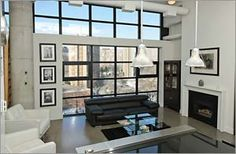 #Brewery #Loft #Toronto Toronto Lofts, Brewery, Living Rooms, Style, Lounges, Swag, Stylus, Family Rooms, Family Room