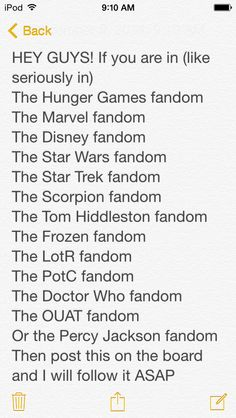 + the PHANDOM Please leave a comment of what fandom you are in! Marvel, Scorpion, Tom Hiddleston, LotR, PotC, OUAT