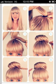 Awesome 1000 Images About Fun Bun On Pinterest Buns Messy Buns And Hairstyles For Men Maxibearus