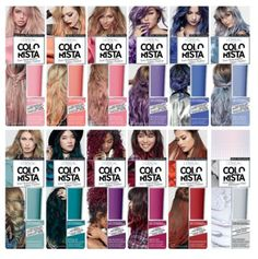 Canadian Free Samples: Win One Of 1000 Free Samples Of L'Oreal Colorista Hair Color Blue, Hair Dye Colors, Brown Hair Colors, Pink Hair, Colorista Hair Dye, Temporary Hair Dye, Look 2018, Dye My Hair, Grunge Hair