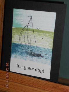 """Stampin' Up stamp set """"Sail Away"""""""