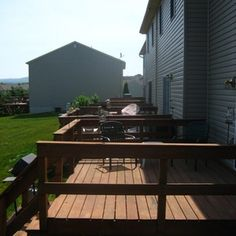 Following safetly guidelines when installing a deck is of utmost importance.