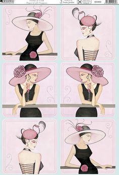Ladies - pink and black
