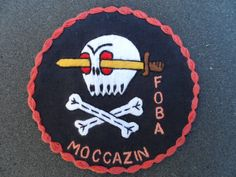 US special forces patch recon team FOA Moccasin ~ Vietnam War
