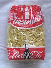 COCA COLA PASTA  - 100 YEARS OF COCA COLA BOTTLE   PASTA IN SHAPE OF COLA BATTLE