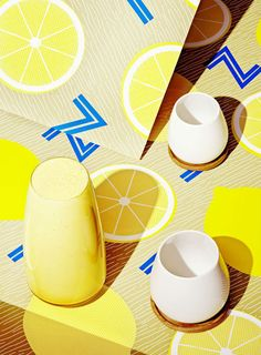 Stills and Strokes' images of smoothies are beautifully garish
