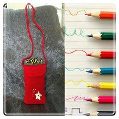 Cell phone little bag | Crochet. I love it!
