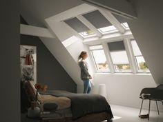 Zolder met Velux dakraam voor voldoende daglicht, lucht en extra ruimte