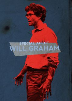 Our favorite, overly empathizing special agent, Will Graham. Hannibal Funny, Nbc Hannibal, Hannibal Lecter, Hannibal Wendigo, Hannibal Rising, Sir Anthony Hopkins, Will Graham, New Tv Series, Special Agent