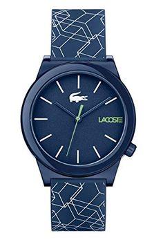 Bracelet Cuir, Bracelet Watch, Bracelets Bleus, Bracelet Silicone, Lacoste Men, Mens Gift Sets, Baby Clothes Shops, Fashion Watches, Pumps Heels