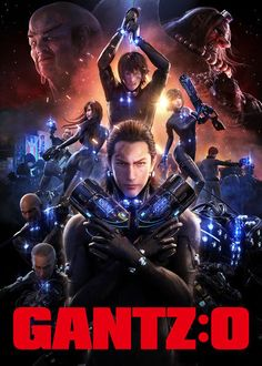 Netflix Adds Gantz:O CGI Anime Film by Mike Ferreira