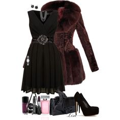 """Holiday Glam"" by lmm2nd on Polyvore"