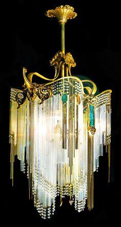 Hector Guimard chandelier