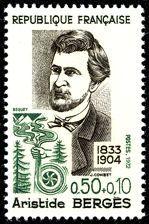 Aristide Bergès 1833-1904 - Timbre de 1972
