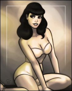 GrantGould.com: The Bettie Page Private Collection