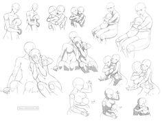 Hug references (FF) by Precia-T.deviantart.com on @deviantART