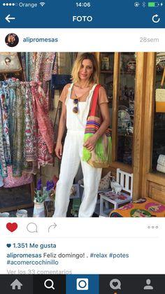 Alicia diseñadora de Dolores Promesas con Bag Gloriaca