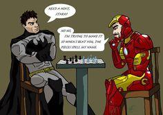 How Tony Stark plays chess.