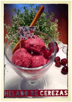 Receta muy fácil para hacer helado casero de cerezas