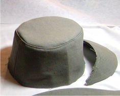 topstitch hat crown