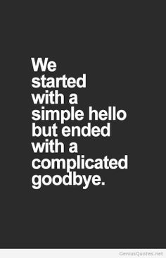 We started with a simple hello