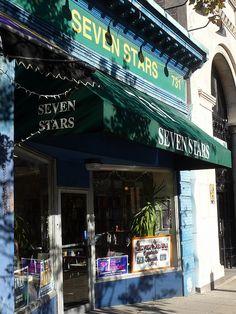 Seven Stars Bookstore in Central Square