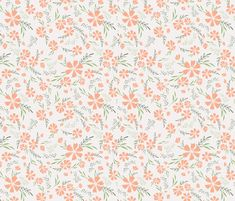 Delicate flowers fabric by oan_dar_design on Spoonflower - custom fabric Fabric Flowers, Custom Fabric, Spoonflower, Fabric Design, Craft Projects, Custom Design, Delicate, Quilts, Blanket